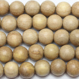 Beads, Bead, Wood Beads, Wood Bead, Wood, Round, Round Beads, Round Bead, Natural, Tan, Philippine, Philippine Wood Bead, 11-12mm, 1mm, 12mm