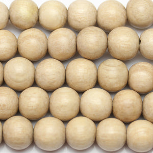 Beads, Bead, Wood Beads, Wood Bead, Wood, Round, Round Beads, Round Bead, Natural, Tan, Philippine, Philippine Wood Bead, 9-10mm, 9mm, 10mm