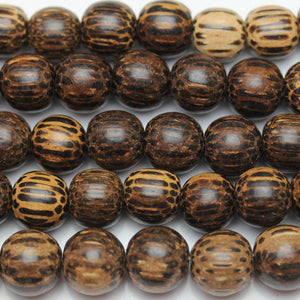 Beads, Bead, Wood Beads, Wood Bead, Wood, Round, Round Beads, Round Bead, Natural, Brown, Black, Philippine, Philippine Wood Bead, 9-10mm, 9mm, 10mm
