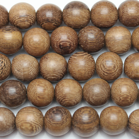 Beads, Bead, Wood Beads, Wood Bead, Wood, Round, Round Beads, Round Bead, Natural, Tan, Brown, Philippine, Philippine Wood Bead, 11-12mm, 11mm, 12mm