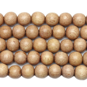 Philippine Wood Round 11-12mm Beads by Halcraft Collection