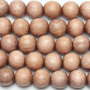 Philippine Wood Round 9-10mm
