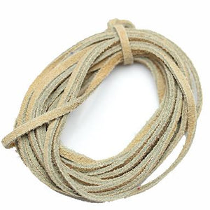 Natural Suede Cording 3mm  - Natural Tan ColorCording by Bead Gallery