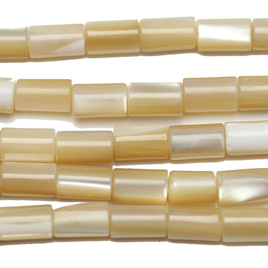 Mother of Pearl Tube 3X5mm