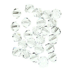 Preciosa Bicone 6mm  CrystalBeads by Halcraft Collection