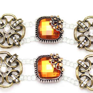 Slider, Sliders, Metal, Glass, Glass Slider, Amber, Bronze, 32497, Square, Round, Square Slider, Round Slider