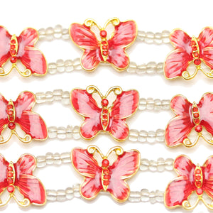 Red Butterfly SliderSlider por Bead Gallery