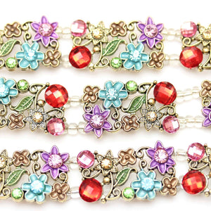 Multi Flower Metal SliderSlider por Bead Gallery