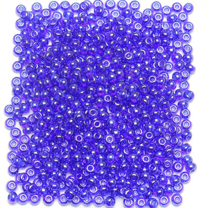 Bead, Beads, Czech, Czech Bead, Czech Beads, Glass, Glass Bead, Glass Beads, Round, Round Bead, Round Beads, Seed Bead, Seed Beads, Seed Czech Bead, Seed Czech Beads, Luster, Royal Blue, 6/0