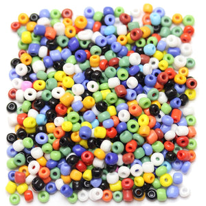 Multi Opaque Chinese 6/0 E beadsBeads by Halcraft Collection