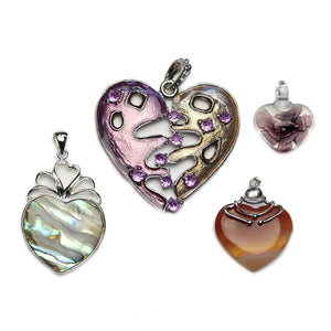 Big Heart AssortmentPendant by Halcraft Collection
