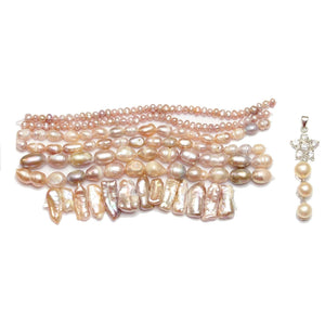 Rose Pearl AssortmentBeads by Halcraft Collection