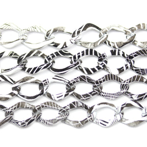 Painted Metal Chain 10mm  WideChain by Bead Gallery