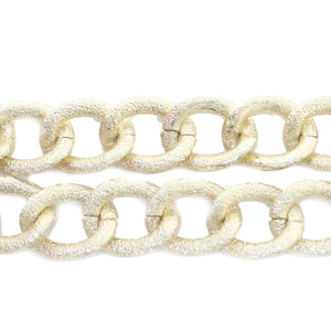 Gold Tone Plated Metal Chain 16mm  WideChain by Bead Gallery