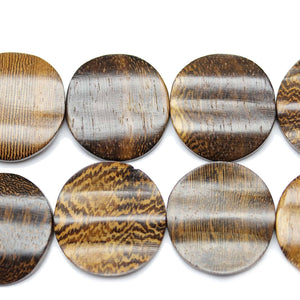 Bead, Beads, Wood, Wood Bead, Wood Beads, Philippine, Philippine Bead, Philippine Wood Beads, Philippine Wood Bead, Multi, Round, Round Bead, Round Beads, 27mm, Robles, Robles Wood Beads