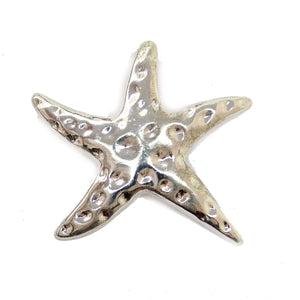 Silver Plated Starfish PendantPendant by Halcraft Collection