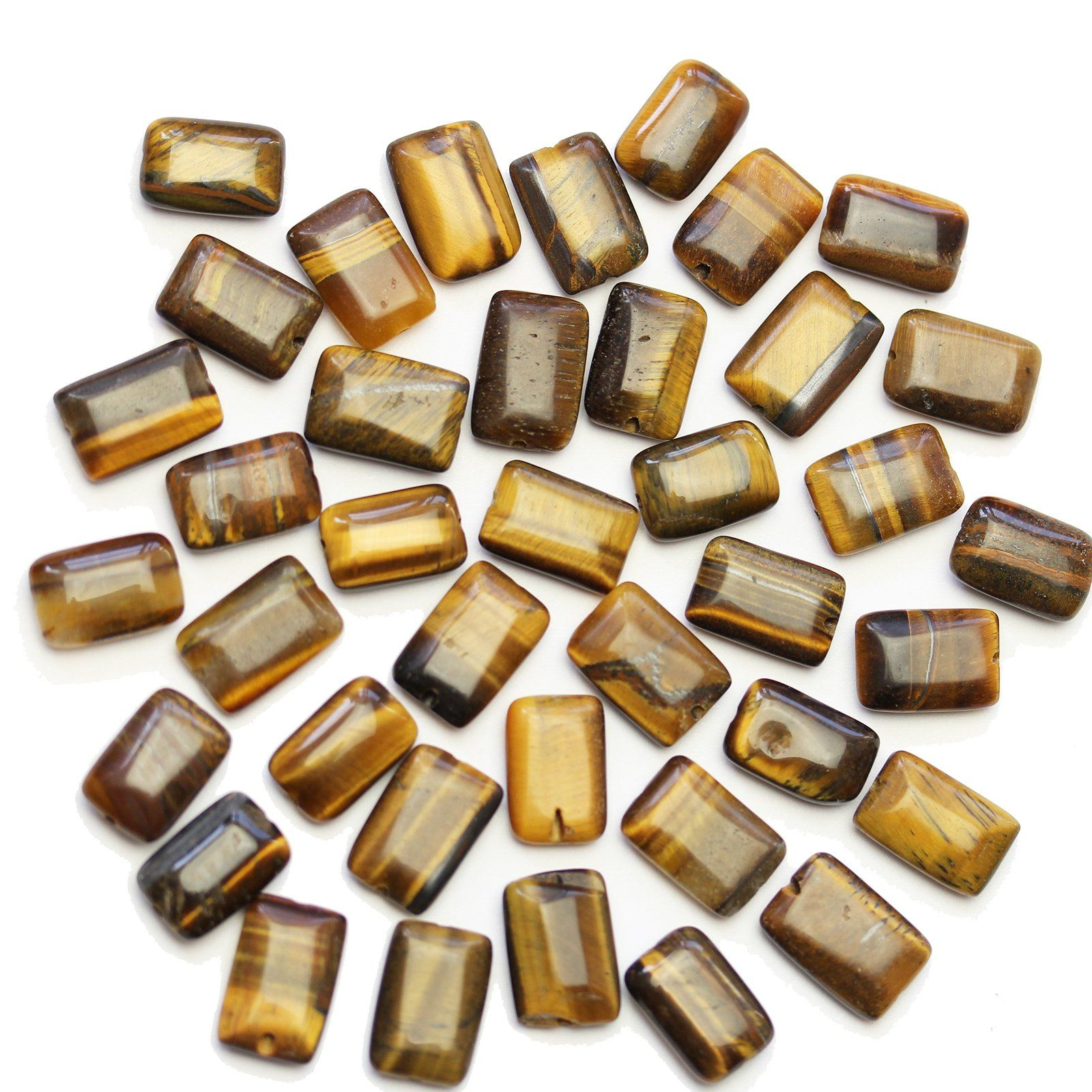 Finest Quality~~~ 1 Strand~~Blue tiger Eye Faceted Flat Rectangle Bar Shape Briolettes~~~32mmx7mm-26mmx7mm~~~8 Inch Long