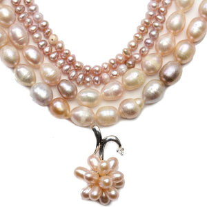 Natural Lavender Fresh Water Pearl BundleBeads by Halcraft Collection