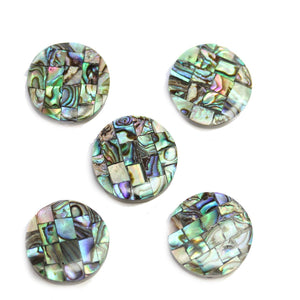 Philippine Abalone Mosaic 20mm BeadsBeads by Halcraft Collection