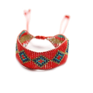 Tribal Wrap Glass BraceletBracelets by Bead Gallery