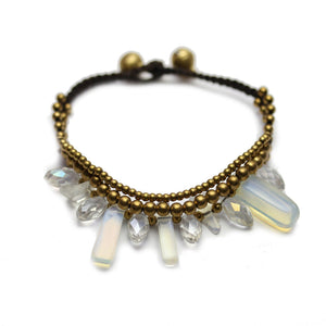 Natural Stone & Glass BraceletBracelets by Bead Gallery
