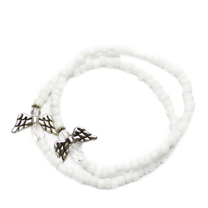Guardian Angel Glass BraceletsBracelets by Halcraft Collection