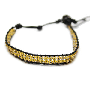 Wrap Glass BraceletBracelets by Halcraft Collection