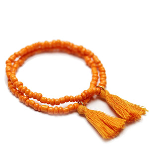Shop Tassel Glass Bracelets by Halcraft Collection