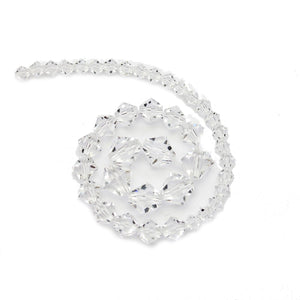 Multi-pack - Preciosa Bicone Crystal Beads (sizes 4mm, 6mm, 8mm)