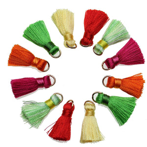 Assorted 13x20mm Tassel Mix - Tassel by Bead Gallery