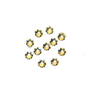Swarovski® Crystals 2088 Xirius Rose Flat Back, Foiled, SS20 (4.6-4.8mm) Crystal Shimmer - Beads by Bead Gallery