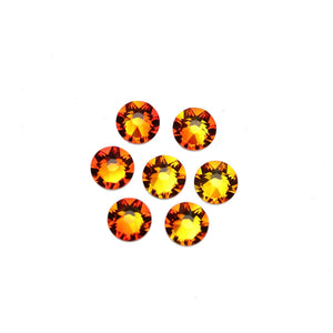 Cristales de Swarovski® 2088 Xirius Rose Flat Back, Foiled, SS34 (7.07-7.27mm) Fireopal - Beads by Bead Gallery