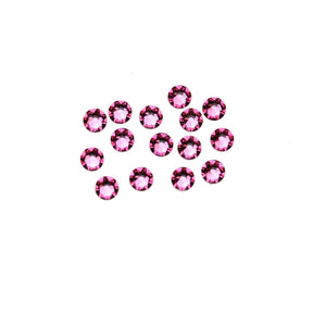 Swarovski® Crystals 2088 Xirius Rose Flat Back, Foiled, SS16 (3.8-4mm) Rose - Beads by Bead Gallery