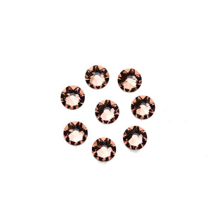 Cristales de Swarovski® 2088 Xirius Rose Flat Back, Foiled, SS30 (6.32-6.5mm) Blush Rose - Beads by Bead Gallery