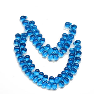 Super Bundle - Czech Glass Sapphire Teardrop BeadsBeads by Halcraft Collection