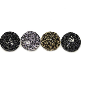 Multi Plated Wire Lentil 22mm BeadsBeads by Halcraft Collection