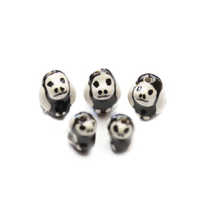 Ceramic Dog Skeleton 10x13mm & 12x17mm BeadsBeads by Halcraft Collection