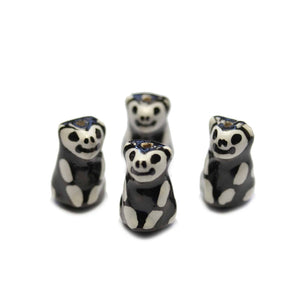 Ceramic Koala Bear Skeleton 15x19mm BeadsBeads by Halcraft Collection