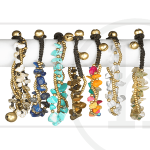 Semi Precious BraceletsBracelets by Halcraft Collection