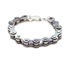 Chain Silver Tone BraceletBracelets by Halcraft Collection