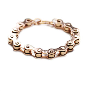 Chain Rose Gold Tone BraceletBracelets by Halcraft Collection