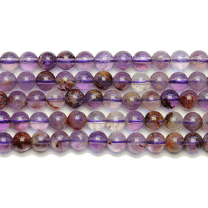 Purple Lodalite Stone Round 6mm BeadsBeads by Halcraft Collection