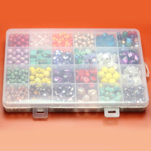 Plastic Storage 24 Sections 5.2 x 7.5 x .75 inches deepStorage by Bead Gallery