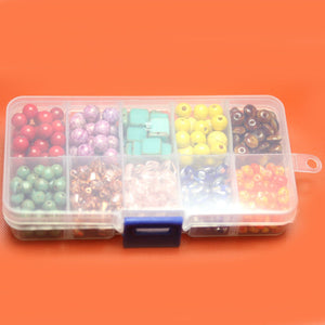 Plastic Storage 10 Sections 2.5 x 5 x .75 inches deepStorage by Bead Gallery