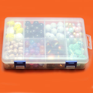 Plastic Storage 8 Sections 5.25 x 8 x 1.5 inches deepStorage by Bead Gallery
