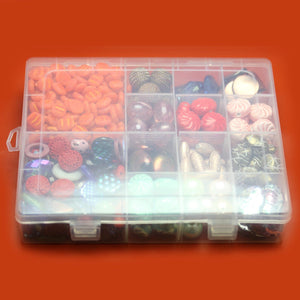 Plastic Storage 14 Sections 6.5 x 8 x 1.5 inches deepStorage by Halcraft Collection