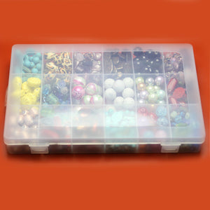Plastic Storage 18 Sections 7 X 10.75 x 1.5 inches deepStorage by Halcraft Collection