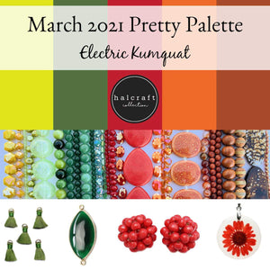 March 2021 Pretty PaletteBeads by Halcraft Collection