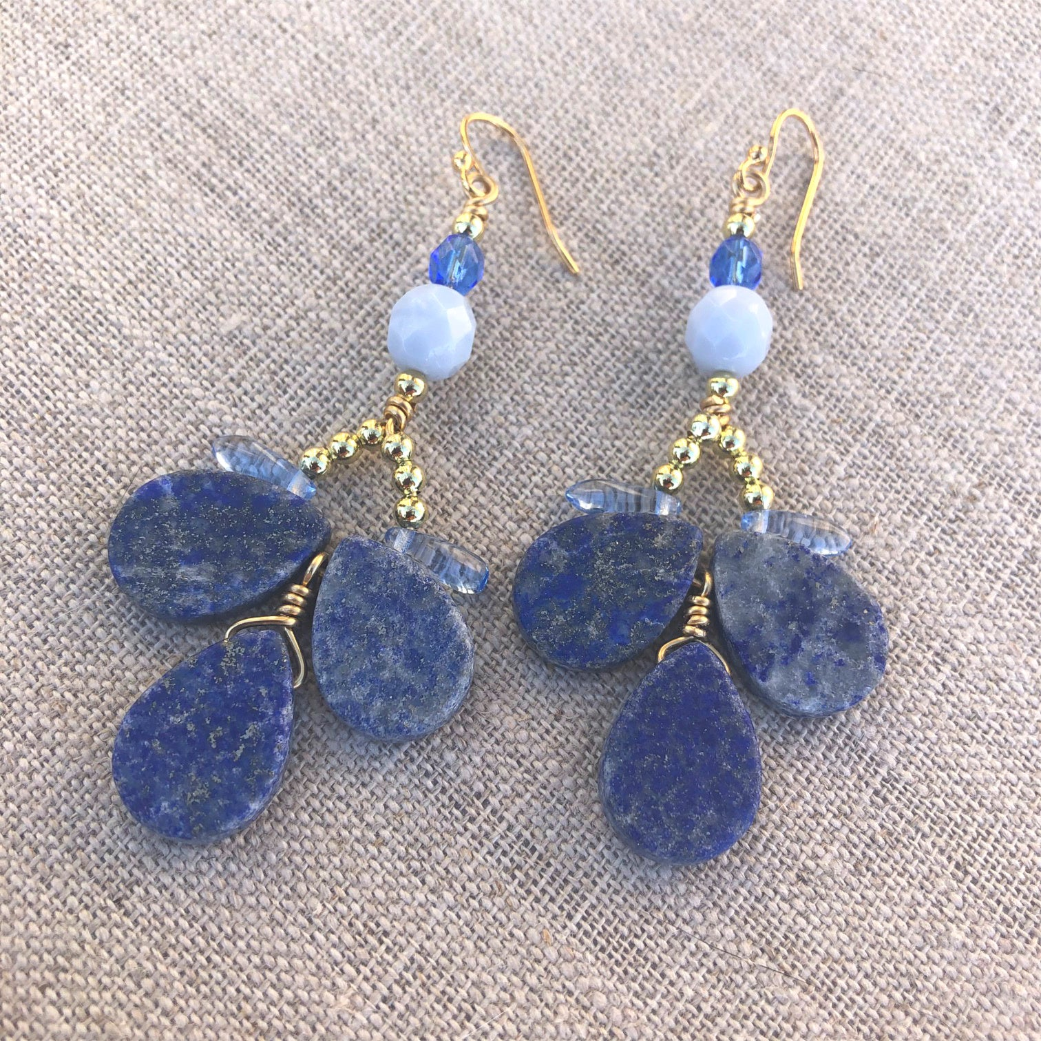 Classic Blue Earrings