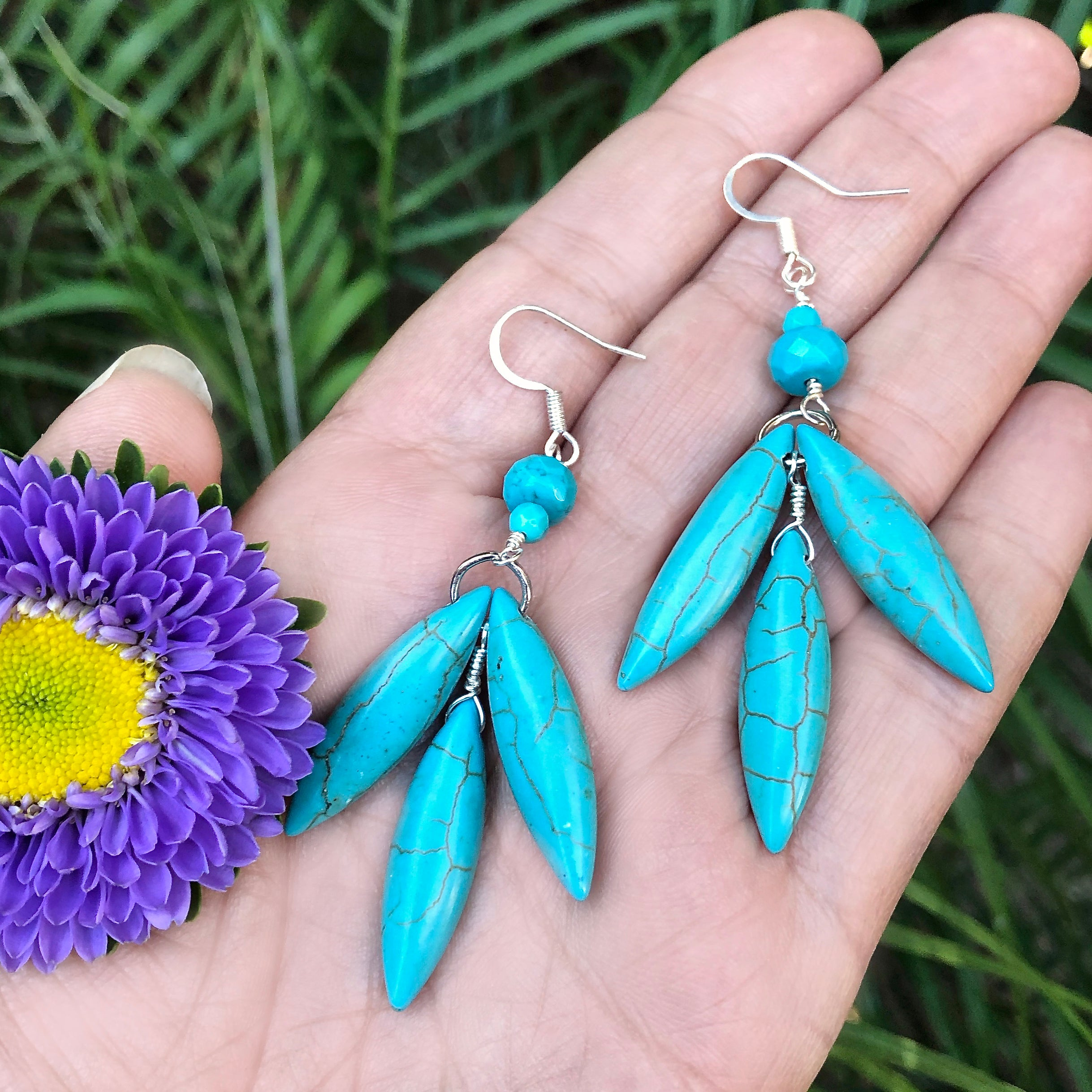 Feather Fall DIY Earrings